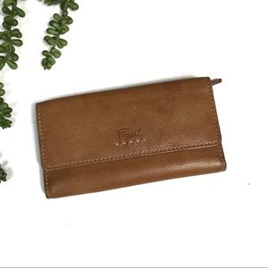 Vintage Fossil Trifold Wallet